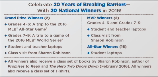 breaking barriers essay contest 2014